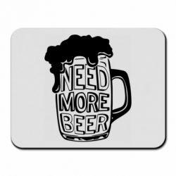 Килимок для миші Need more beer