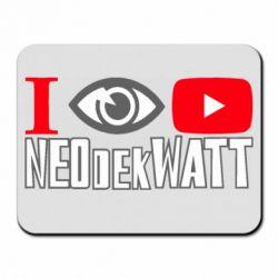 Килимок для миші I Watch NEOdekWATT