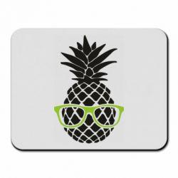 Коврик для мыши Pineapple with glasses