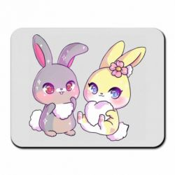 Килимок для миші Rabbits In Love
