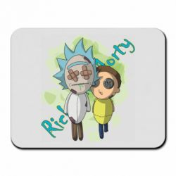 Килимок для миші Rick and Morty voodoo doll