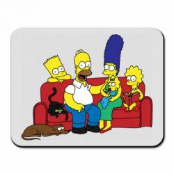 Коврик для мыши Simpsons At Home
