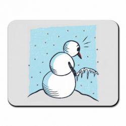 Килимок для миші Snowman. It's Cold!