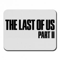 Коврик для мыши The last of us part 2 logo
