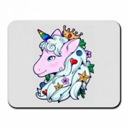 Килимок для миші Unicorn Princess