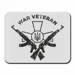 Килимок для миші Veteran machine gun