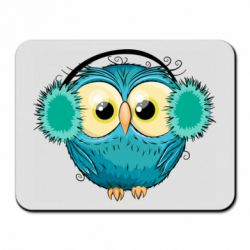 Коврик для мыши Winter owl