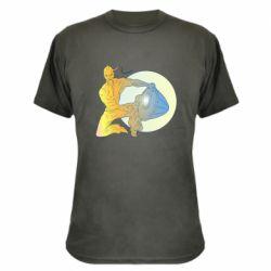 Камуфляжная футболка Kozak and drum