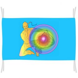 Флаг Kozak and drum