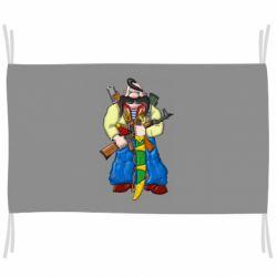 Прапор Козак и ак-47