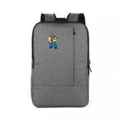 Рюкзак для ноутбука Козак и ак-47 - FatLine