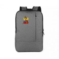 Рюкзак для ноутбука Козак зі зброєю