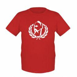 Детская футболка Козак у вінку - FatLine