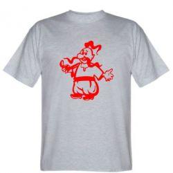 Мужская футболка Козак з люлькою - FatLine