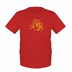 Детская футболка Козак з щитом - FatLine