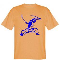 Мужская футболка Козак з шаблями - FatLine