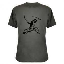 Камуфляжная футболка Козак з шаблями - FatLine