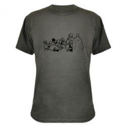Камуфляжная футболка Козаки пишуть письмо султану - FatLine
