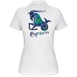 Жіноча футболка поло Козеріг зірки