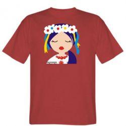 Мужская футболка Красива україночка - FatLine