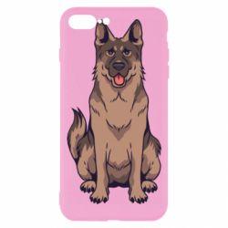 Чехол для iPhone 7 Plus Красивая овчарка