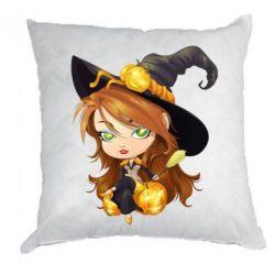 Подушка Красивая ведьма