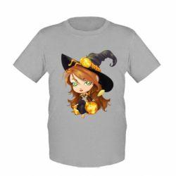 Детская футболка Красивая ведьма - FatLine