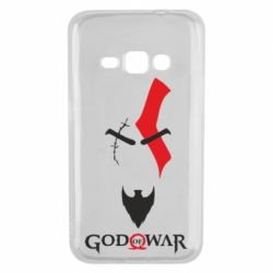 Чехол для Samsung J1 2016 Kratos - God of war