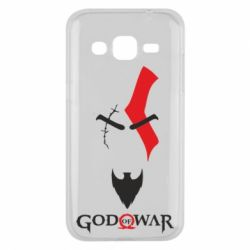Чехол для Samsung J2 2015 Kratos - God of war