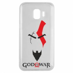 Чехол для Samsung J2 2018 Kratos - God of war