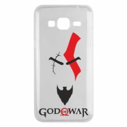 Чехол для Samsung J3 2016 Kratos - God of war