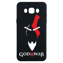 Чехол для Samsung J7 2016 Kratos - God of war