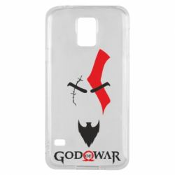 Чехол для Samsung S5 Kratos - God of war