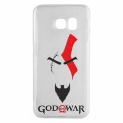 Чехол для Samsung S6 EDGE Kratos - God of war
