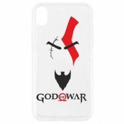 Чехол для iPhone XR Kratos - God of war