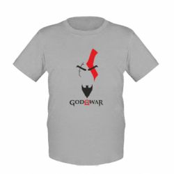 Детская футболка Kratos - God of war