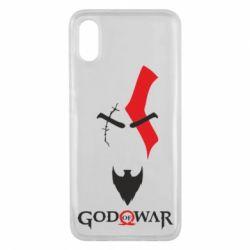 Чехол для Xiaomi Mi8 Pro Kratos - God of war