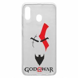 Чехол для Samsung A30 Kratos - God of war