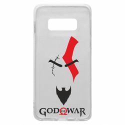 Чехол для Samsung S10e Kratos - God of war
