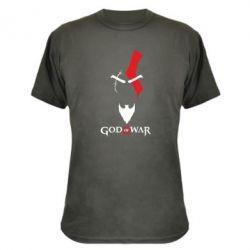 Камуфляжная футболка Kratos - God of war