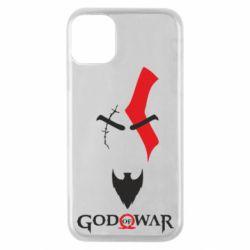 Чехол для iPhone 11 Pro Kratos - God of war