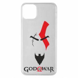 Чехол для iPhone 11 Pro Max Kratos - God of war