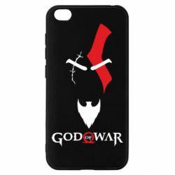 Чехол для Xiaomi Redmi Go Kratos - God of war