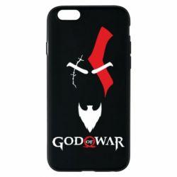 Чехол для iPhone 6/6S Kratos - God of war