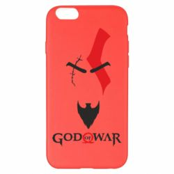 Чехол для iPhone 6 Plus/6S Plus Kratos - God of war