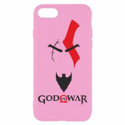Чехол для iPhone 8 Kratos - God of war