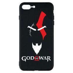 Чехол для iPhone 8 Plus Kratos - God of war