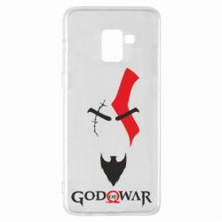 Чохол для Samsung A8+ 2018 Kratos - God of war