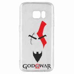 Чехол для Samsung S7 Kratos - God of war