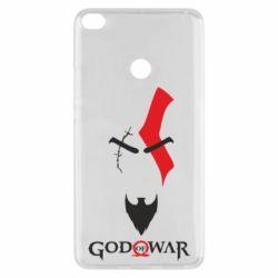 Чехол для Xiaomi Mi Max 2 Kratos - God of war